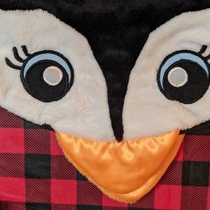Kids penguin sleeping bag made by snuggie
